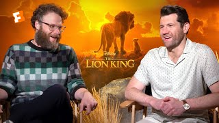 "Seth Rogen & Billy Eichner ""Hated"" Singing With Donald Glover In 'The Lion King'"