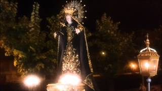 preview picture of video 'Processione dell Madonna Addolorata per le vie di Sora'