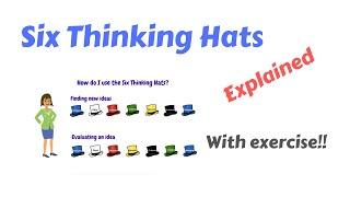 Six Thinking Hats done right - 6 Thinking Hats by Edward de Bono explained