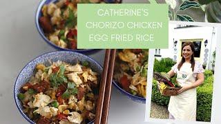 How to make Chorizo Chicken Egg Fried Rice with Catherine Fulvio