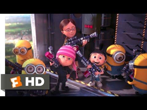Despicable Me 2 (10/10) Movie CLIP - Battling the Minions (2013) HD