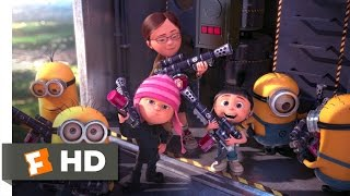 Despicable Me 2 (10/10) Movie CLIP - Battling The Minions (2013) HD