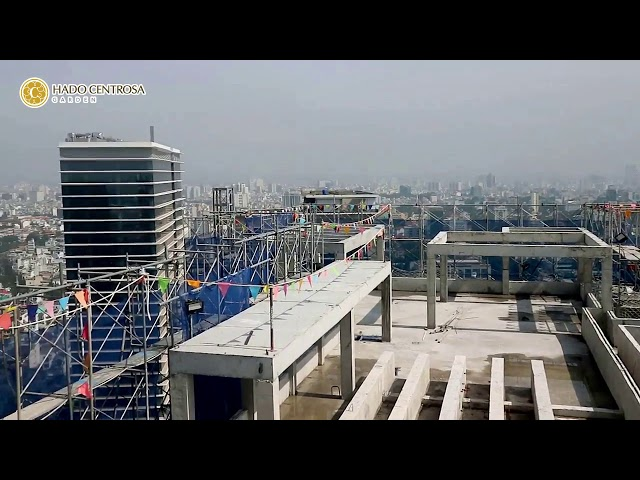 Tiến độ xây dựng dự án căn hộ Hado Centrosa Ganrden