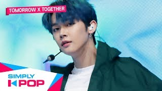 [Simply K-Pop] TOMORROW X TOGETHER(투모로우바이투게더) _ Angel Or Devil + Run Away(9와 4분의 3 승강장에서 너를 기다려)