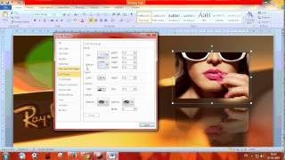 How To Create Posters & Banners Using Microsoft Word 2017 Video