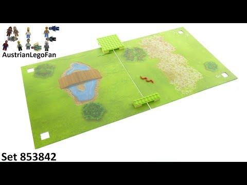 """Vidéo LEGO Objets divers 853842 : LEGO Xtra - Tapis de jeu """"Le parc"""""""