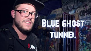 Haunted Blue Ghost Tunnel | We Found Satan Worshipers Doing A Ritual (Scary!) Lights Out Challenge