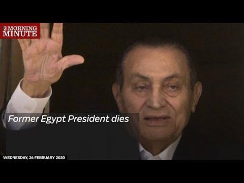 Former Egypt President dies