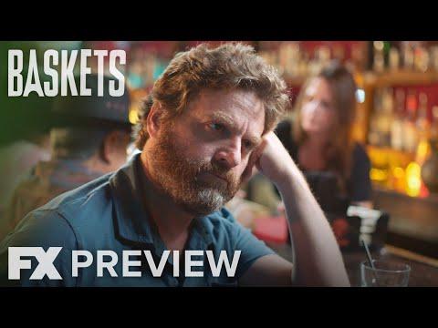 Baskets Season 3 Teaser 'Cornbread'