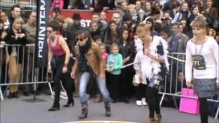 Glam Run Maisons De Mode 2012, La Course à Talons Aiguilles Pour Filles Et Garçons De Lille