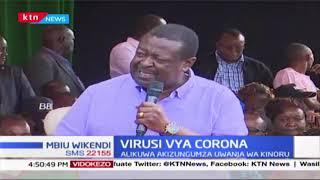 Virusi vya Corona: Kiongozi wa ANC, Musalia Mudavadi asema Serikali ikaze kamba