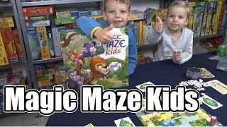 Magic Maze Kids (Sit Down!) - ab 5 Jahre - cooles ungewöhnliches Kinderspiel