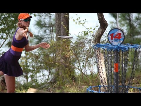 2014 US Women's Disc Golf Championships: Round 1 (Andyke, Hokom, Finley, Gold)