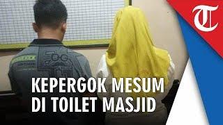 Viral Sejoli Terciduk Diduga Mesum di Kamar Mandi Masjid setelah Dicurigai 30 Menit Tak Keluar