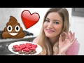 💩❤️ How to Make Poo and Heart Emoji Valentine's Candy 😂