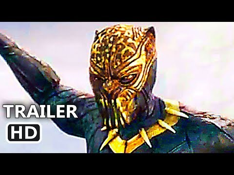 BLACK PANTHER Trailer # 2 (2018) Michael B. Jordan, New Marvel Superhero Movie HD