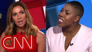 CNN panelist: Don't speak to me like that