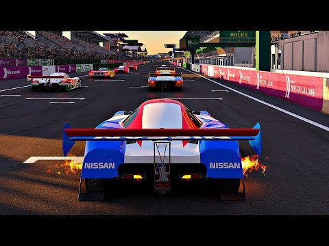 Project CARS 2 - Gameplay Nissan R89C @ Le Mans [4K 60FPS ULTRA]