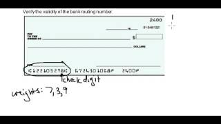 How to Check US Bank Routing Number is Valid or Not