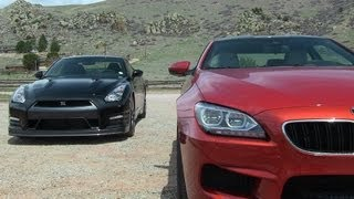 2014 Nissan GT-R vs. BMW M6 0-60 MPH Mile High Mashup Review