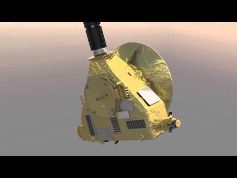New Horizons rotation animation