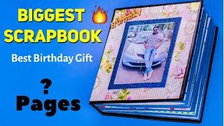 Mega Scrapbook | Best Birthday Gifts For Brother | 9 Scrapbook Ideas | DIY Handmade Gift Ideas