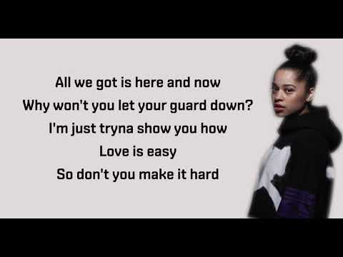 Ella Mai – Easy (Audio) – Lyrics - Lyrics Video