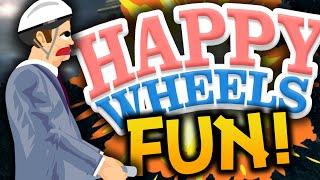 "Happy Wheels: Funny Moments! - ""SEGWAY NOOO!"" - (Happy Wheels Gameplay)"