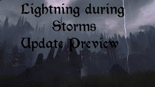 Lightning during Storms Update preview