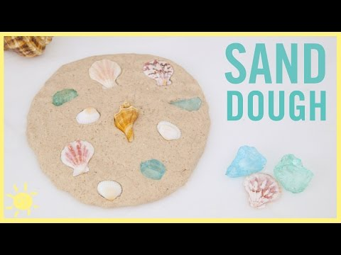 DIY   Kinetic Sand Play-Doh (Totally Amazing!)