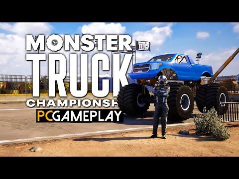 Gameplay de Monster Truck Championship