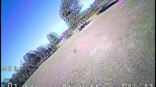 FPV flying with BETAFPV Meteor65 at local park