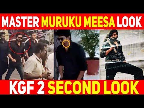 MASTER New Muruku Meesa Look | Thalapathy Vijay | ..