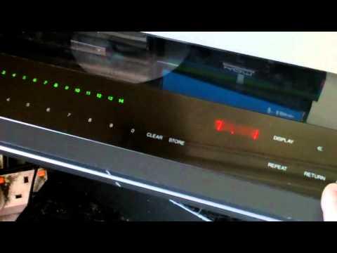 Bang and Olufsen B&O CD Player CDX