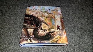Harry Potter And The Goblet Of Fire Illustrated Edition Unboxing
