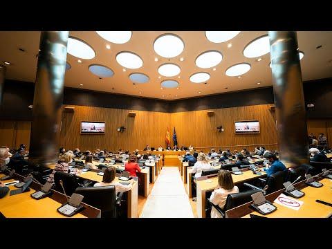 Pablo Casado interviene en la plenaria de los grupos parlamentarios de las Cortes