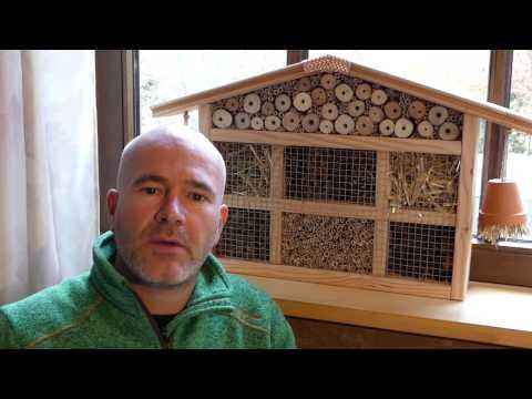 Insektenhotel selber bauen / Nisthilfe (kleines Haus)