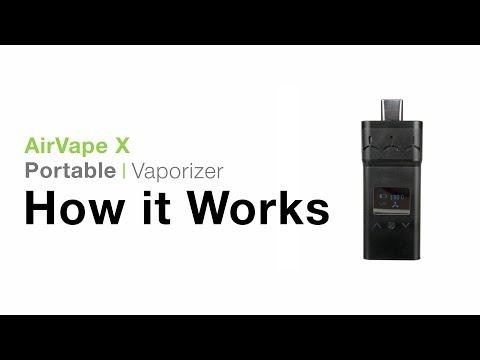 AirVape X Vaporizer Tutorial