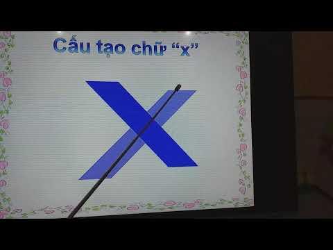 Làm quen chữ s, x. Cô giáo Trương Thị Mỹ Linh