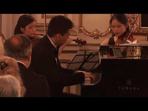Chopin Piano Concerto No.2 at Polish Consulate General, New York