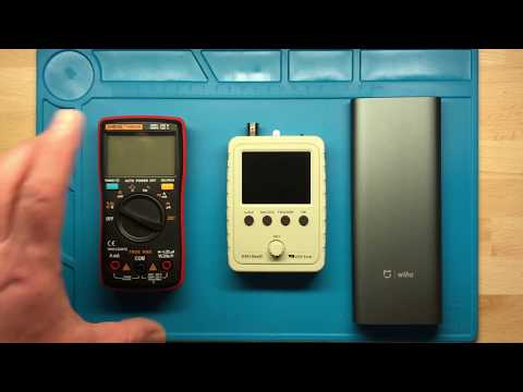 JYE Tech DSO150 now real handheld DSO with LiIon battery build in.