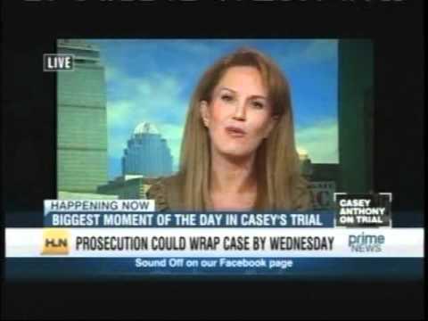 Meg Strickler on HLN Prime News with Vinnie Politan June 13, 2011 discussing Casey Anthony