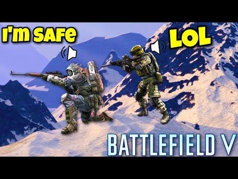 Battlefield V Firestorm Funny & Epic Moments #1
