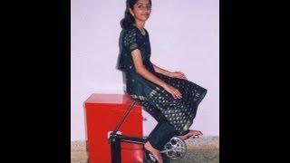 Mini Washing Machine Runs without Electricity : Remya Jose Innovation