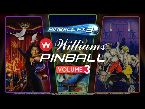 Williams Pinball Vol. 3 Now Available! Theatre of Magic! Championship Pub! Safe Cracker! thumbnail