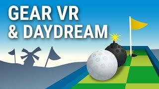 virtual MINIGOLF reality - mobile VR Minigolf game - Gear VR and Google Daydream
