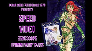 COPIC SPEED VIDEO | Poison Ivy Grimm Fairy Tales Zenescope