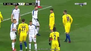 ملخص مباراة  النارية بين تشيلسي و دينامو كييف 💥💥 5_0