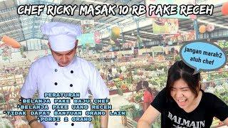 CHEF RICKY CHALLENGE MASAK 10RB PAKE UANG RECEH