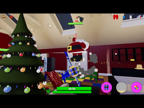 SANTA IS TRYING TO EAT US!!! - Cookies vs. Claus Funny Moments! (Fun Christmas Game!) Screenshot 3